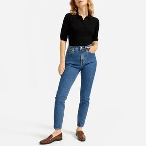 Everlane | High Rise Skinny Ankle Jeans